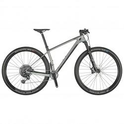 Vélo VTT 29p carbone - SCOTT 2021 Scale 910 AXS - Gris décor noir