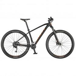 Vélo VTT 29p alu - SCOTT 2022 Aspect 940 Granite - Noir décor rouge