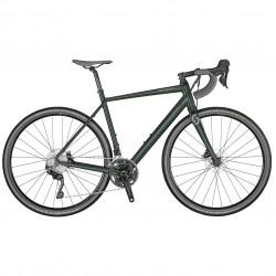 Vélo gravel 700 alu - SCOTT 2021 Speedster Gravel 30 - Vert sapin décor gris clair