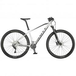 Vélo VTT 29p alu - SCOTT 2022 Aspect 930 - Blanc décor noir