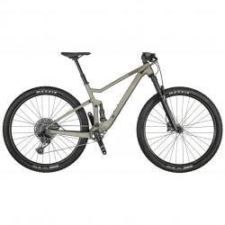 Vélo VTT 29p alu - SCOTT 2021 Spark 950 - Gris champagne décor noir
