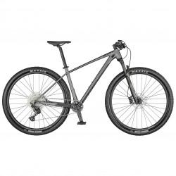 Vélo VTT 29p alu - SCOTT 2022 Scale 965 - Gris argent décor gris anthracite