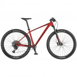 Vélo VTT 29p alu - SCOTT 2021 Scale 970 - Rouge décor noir
