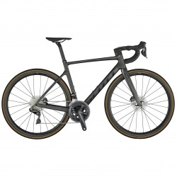 Vélo course 700 carbone - SCOTT 2021 Addict RC 15 - Noir carbone pailleté décor noir