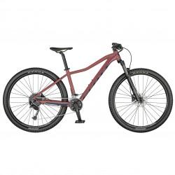 Vélo VTT femme 27.5p alu - SCOTT 2021 Contessa Active 30 - Rouge décor bleu nuit