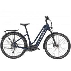 Vélo électrique vtc urbain 27.5p alu - TREK 2021 Allant+ 7 Lowstep 500 - Bleu nuit décor gris argent