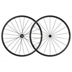 Roues à pneu 700 MAVIC route Ksyrium SL UST Black noire moyeu noir