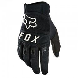 Gants longs - FOX Dirtpaw - Noir décor blanc