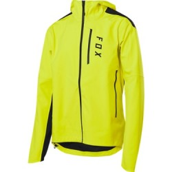 Veste imperméable FOX vtt Ranger 3L jaune fluo décor noir
