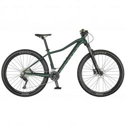 Vélo VTT femme 27.5p alu SCOTT 2021 Contessa Active 10 vert sapin décor vert clair