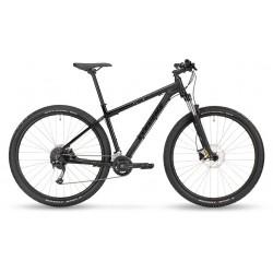 Vélo VTT 29p alu - STEVENS 2021 Tonga - Noir STEALTH Décor noir et triangles multicolores : 100mm