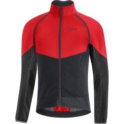 Veste coupe-vent - GORE Phantom GoreTex Infinium - rouge décor noir