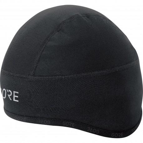 Bonnet sous-casque hiver - GORE C3 Windstopper - noir : coupe-vent - thermique et stretch - idéal pour affronter l'hiver -