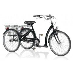 Vélo tricycle adulte VELO acier Classique Eco noir