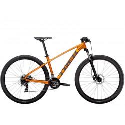 Vélo VTT 29p alu - TREK 2021 Marlin 5 - Orange Factory Décor gris Lithium