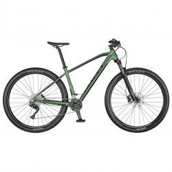 Vélo VTT 29p alu - SCOTT 2021 Aspect 920 - Vert métallisé Décor noir : 100mm