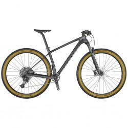 Vélo VTT 29p carbone - SCOTT 2022 Scale 940 - Noir granite décor argent
