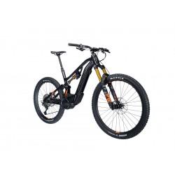 Vélo VTT électrique 29 / 27.5p alu - LAPIERRE 2021 Overvolt AM 8.6 625 - Noir Décor orange et gris