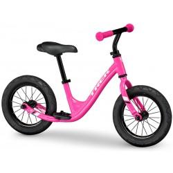 Vélo VTT draisienne fille 18 à 30 mois alu - TREK 2021 Kickster - Rose Flamingo décor blanc
