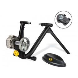 Home-trainer SARIS avec roue arrière Fluid2 Trainer Smart Equipped