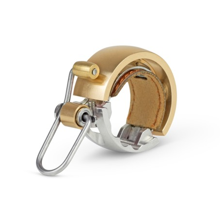 Sonnette KNOG métal Oi Bell Luxe Small 22.2 or