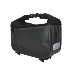 Sacoche RACKTIME arrière supérieure Yves noir sur porte-bagage