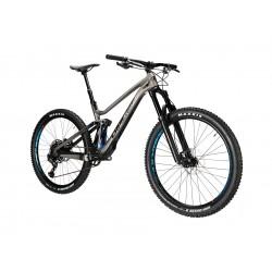 Vélo VTT 27.5p carbon - LAPIERRE 2020 Zesty AM FIT 5.0 - Gris cendre décor noir : 150/150mm