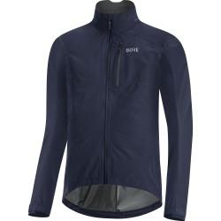 Veste imperméable - GORE GoreTex Paclite - bleu marine : membrane imperméable - très respirante et légère - poches