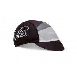 Casquette - WILIER Pop Rock - noir décor gris et bordeaux - confortable et très respirante - idéale sous le casque - ppc