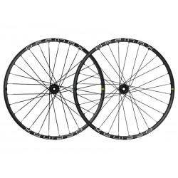 Roues à pneu 29p MAVIC vtt vae E-Deemax S 30 29 Boost ID360 XD noire décor blanc