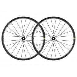 Roues à pneu 29p MAVIC vtt Crossmax Carbon XLR 29 DCL Boost ID360 MS noire décor noir
