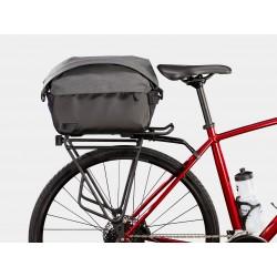 Sacoche arrière sur porte-bagage - BONTRAGER City Shopper - Noir décor gris