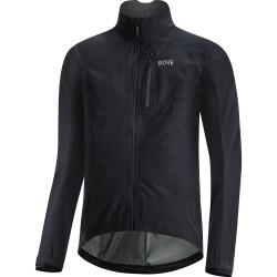 Veste imperméable - GORE GoreTex Paclite - noir : membrane imperméable - très respirante et légère - poches arrière et