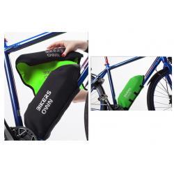 Protège batterie BIKERS OWN néoprène Case4Rain Yamaha noire et vert