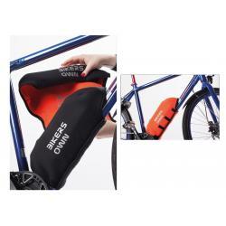 Protège batterie BIKERS OWN néoprène Case4Rain Yamaha noire et orange