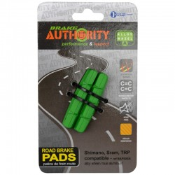 Patins nus BRAKE AUTHRITY route cartouche Road ABS 55 vert