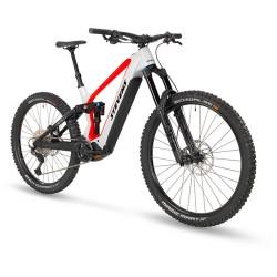 Vélo VTT électrique 29/27.5 carbone STEVENS 2021 E Inception ED 8.7 GTF 726 - Gris clair décor orange néon : 170/170