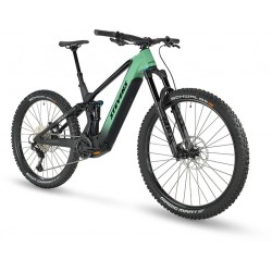 Vélo VTT électrique 29/27.5 carbone STEVENS 2021 E Inception AM 8.7 GTF 726 - Noir décor vert pale : 150/150
