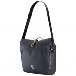 Sacoche arrière latérale - SYNCROS Pannier Messenger Bag - gris anthracite décor noir