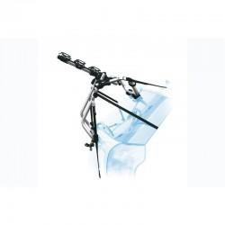 Porte-vélo PERUZZO sur coffre arrière Vénézia argent pour 3 vélos