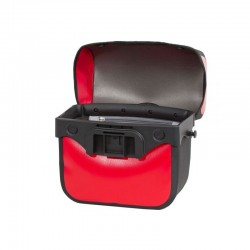 Sacoche de guidon - ORTLIEB Ultimate6 Free M F3412 - Rouge rust décor noir