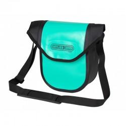 Sacoche de guidon - ORTLIEB Ultimate6 Compact Free M F3322 - Bleu lagon décor noir