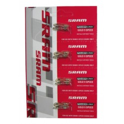 Attache-rapide SRAM chaine 9v Power-Link or
