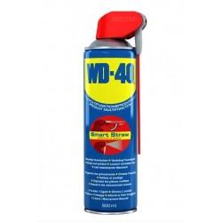 Spray multifonction WD-40 Smart Straw 400, dégrippe, lubrifie, dégraisse, chasse l'humidité