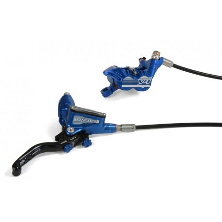 Frein à disque HOPE arrière Tech-3 V4 bleu levier noir