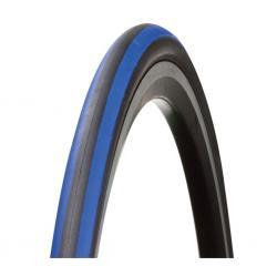 Pneu BONTRAGER route R2 bleu noir flancs noirs