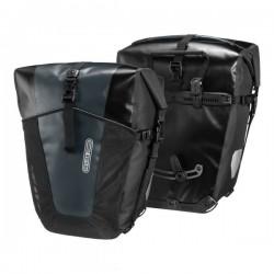Sacoches arrières latérales - ORTLIEB Back Roller Pro Classic F5351 - Noir décor asphalte
