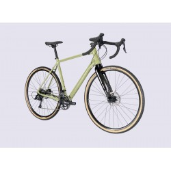 Vélo gravel 700 alu - LAPIERRE 2021 CrossHill 2.0 - Vert clair décor vert clair : 2x9v