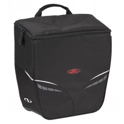 Sacoche NORCO arrière simple Canmore KS 13 noir sur porte-bagage