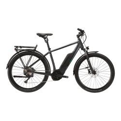 Vélo électrique urbain 28p LAPIERRE 2021 alu Overvolt Explorer 7.5 S-Int 500 anthracite déor gris